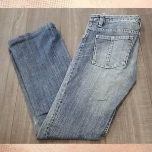 Buffalo Jeans Glory-X Low Rise Flare Distressed